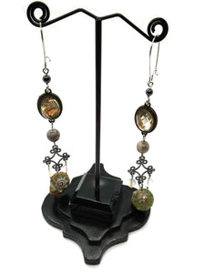 Goth Earrings - Ocean Dreamer