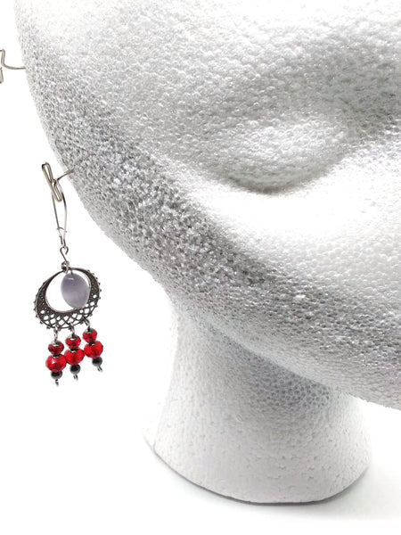 Goth Earrings - Vampiric Decadence