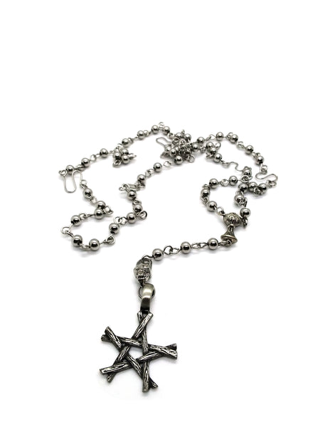 Goth Rosary - Steel Ceremony