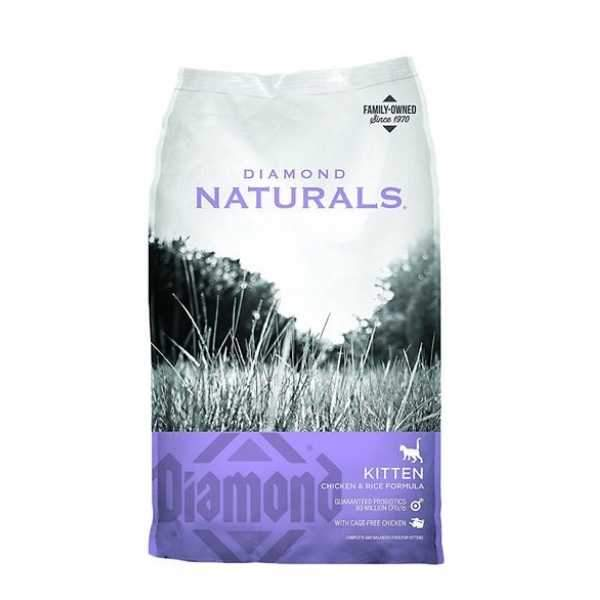 Croquetas Diamond Naturals Kitten (Gatos Cachorros) 2.72kg Alimento Seco Gatos Diamond
