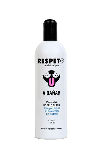 Shampoo Respet Natural Té Blanco para Perro y Gato SHAMPOO PERROS Y GATOS The Respect Co.