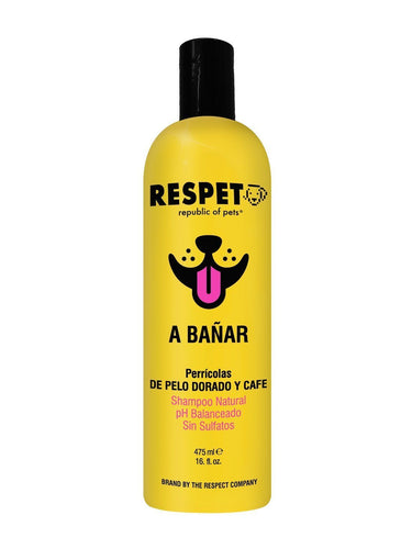 Shampoo Respet Natural Coco para Perro y Gato SHAMPOO PERROS Y GATOS The Respect Co.