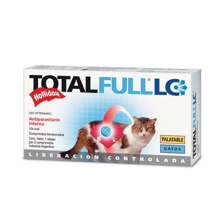 Desparasitante para Gatos Total Full LC en Comprimidos Desparasitante Total Full LC
