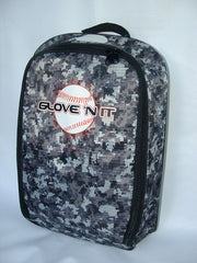 Digital Camo w/Black Trim GLOVE 'N IT Bags