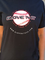 Premium GLOVE 'N IT logo t-shirt
