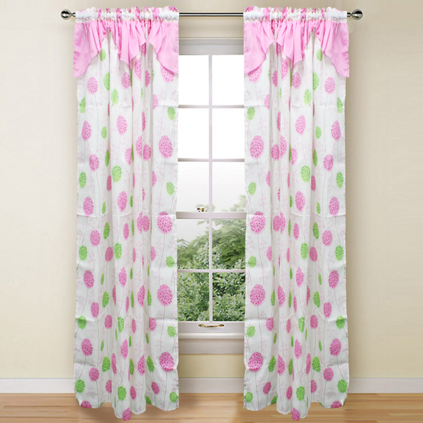 Fely Curtain Collection Single Panel 1pc 55 x72 Inches