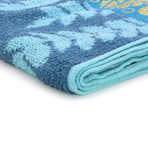 Leaves Large Size Bath Towel High Quality 100% Cotton Bath Towel Water Absorbent Body Towel