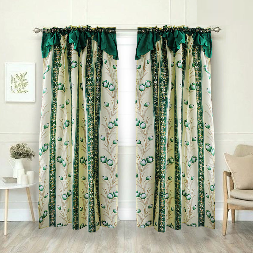 Cassiopeia Curtain Collection Single Panel 1pc 55 x72 Inches