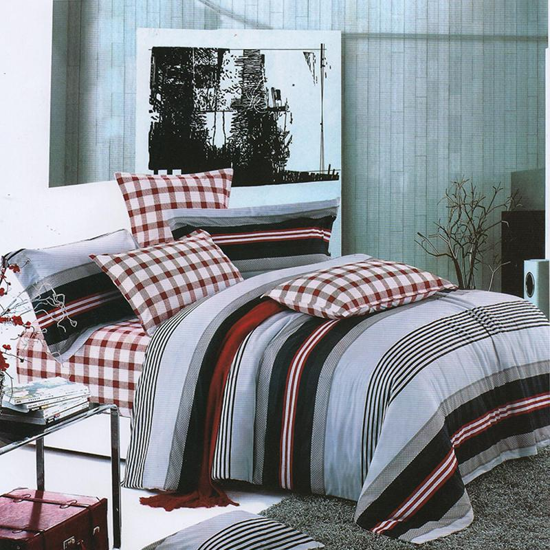 A-Grade Multi Color 3 in 1 Bed Sheet with Pillowcase Printed Collection Bedding Set for Mattress