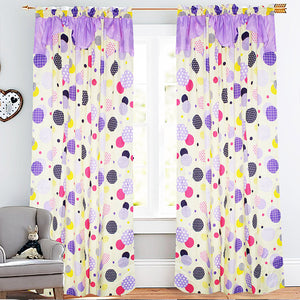 Marja Curtain Collection Single Panel 1pc 55 x72 Inches