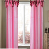 Poppy Curtain Collection Single Panel 1pc 55 x72 Inches