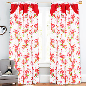 Lindris Curtain Collection Single Panel 1pc 55 x72 Inches