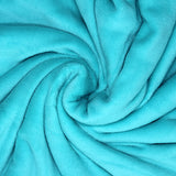 Home Sweet Home Twin Size Coral Fleece Blanket Plain - Mint