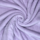 Home Sweet Home Twin Size Coral Fleece Blanket Plain - Orchid