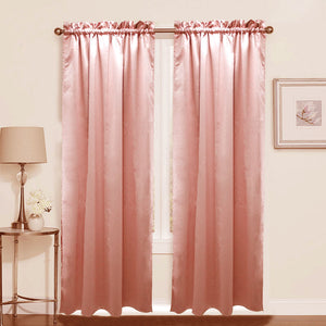 1PC Dim Out Curtain 10 x 84 Inches Long Single Panel for Living Room and Bedroom Windows
