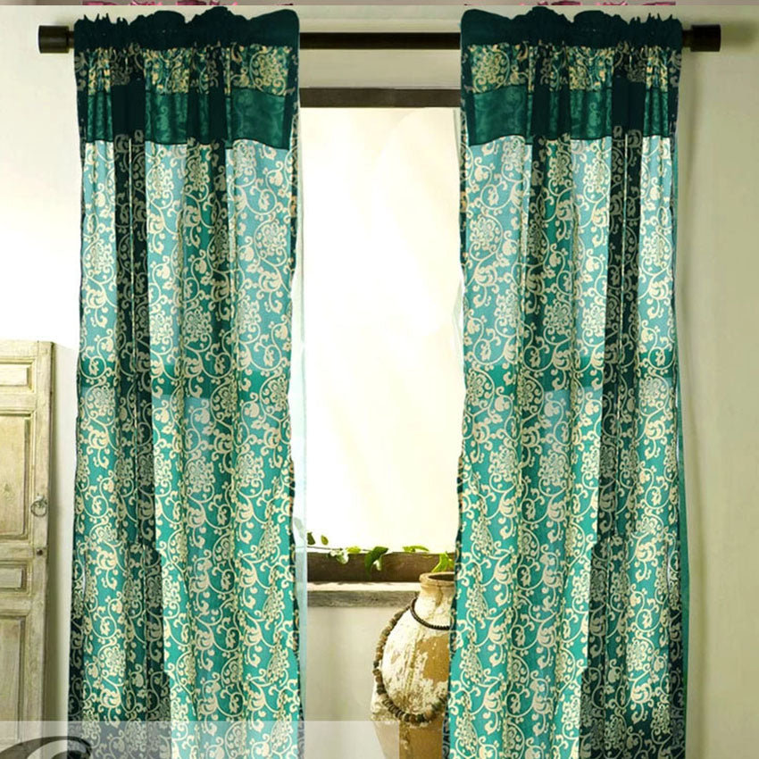 Royale Curtain Collection Single Panel 1pc 55 x72 Inches