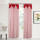 Veera Curtain Collection Single Panel 1pc 55 x72 Inches