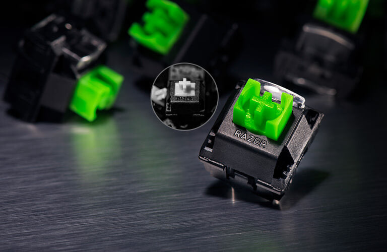 Razer Blackwidow Elite Green Switch