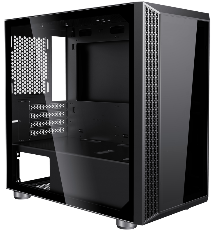 Invasion M3 MATX Tempered Glass Desktop Casing