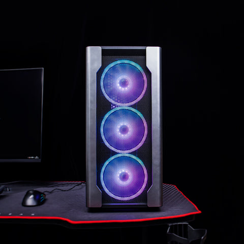 1stPlayer DX Gaming Case (Include 4 140MM FANS Aurora RGB) - DMBTech