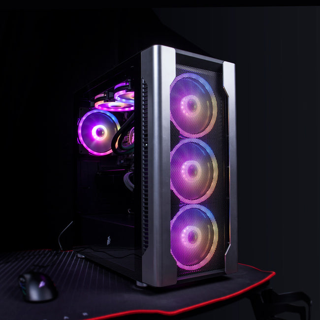 1stPlayer DX Gaming Case (Include 4 140MM FANS Aurora RGB)