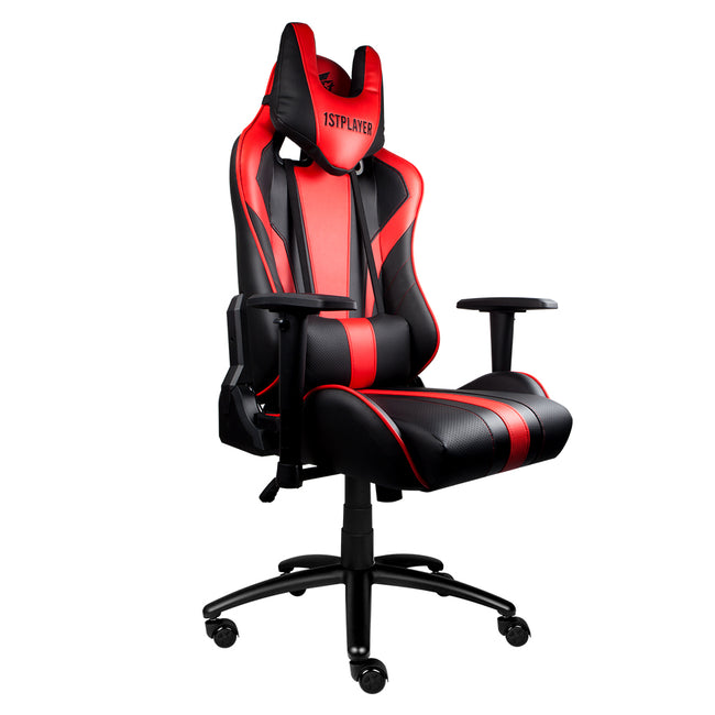 1st Player FK1 Professional Gaming Chair with Pillow and Lumbar Cushion - DMBTech