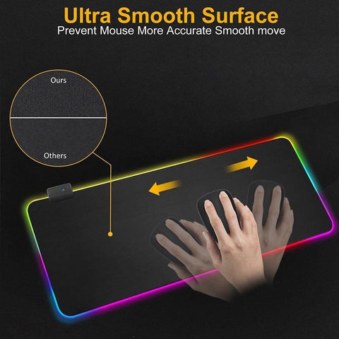 DMB 300X800 XL Large Gaming RGB Mousepad