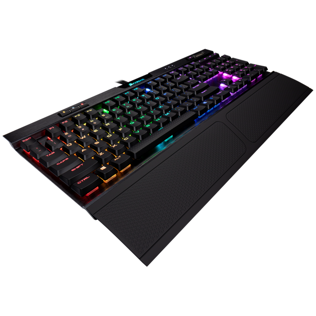 CORSAIR K70 RGB MK.2 Low Profile Mechanical Gaming Keyboard — CHERRY® MX Low Profile Speed