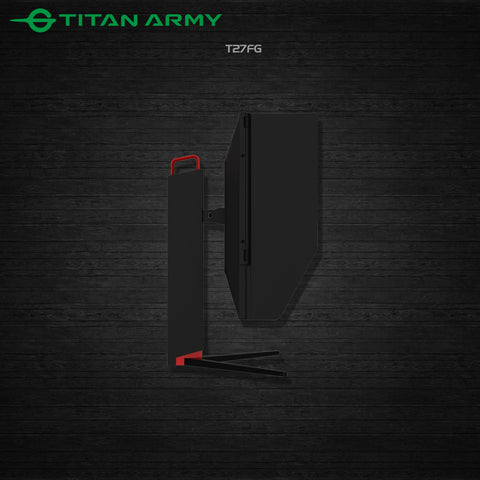 "TITAN ARMY 27"" IPS 144HZ ROTATED GAMING MONITOR (T27FG) - DMBTech"