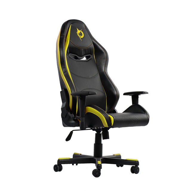 Todak Alpha Standard Gaming Chair - Yellow (side)