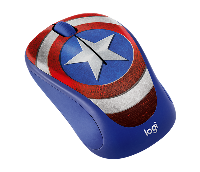 Marvel Superhero Captain American Mouse
