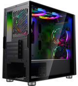 Invasion Casing M3 MATX Tempered Glass Desktop