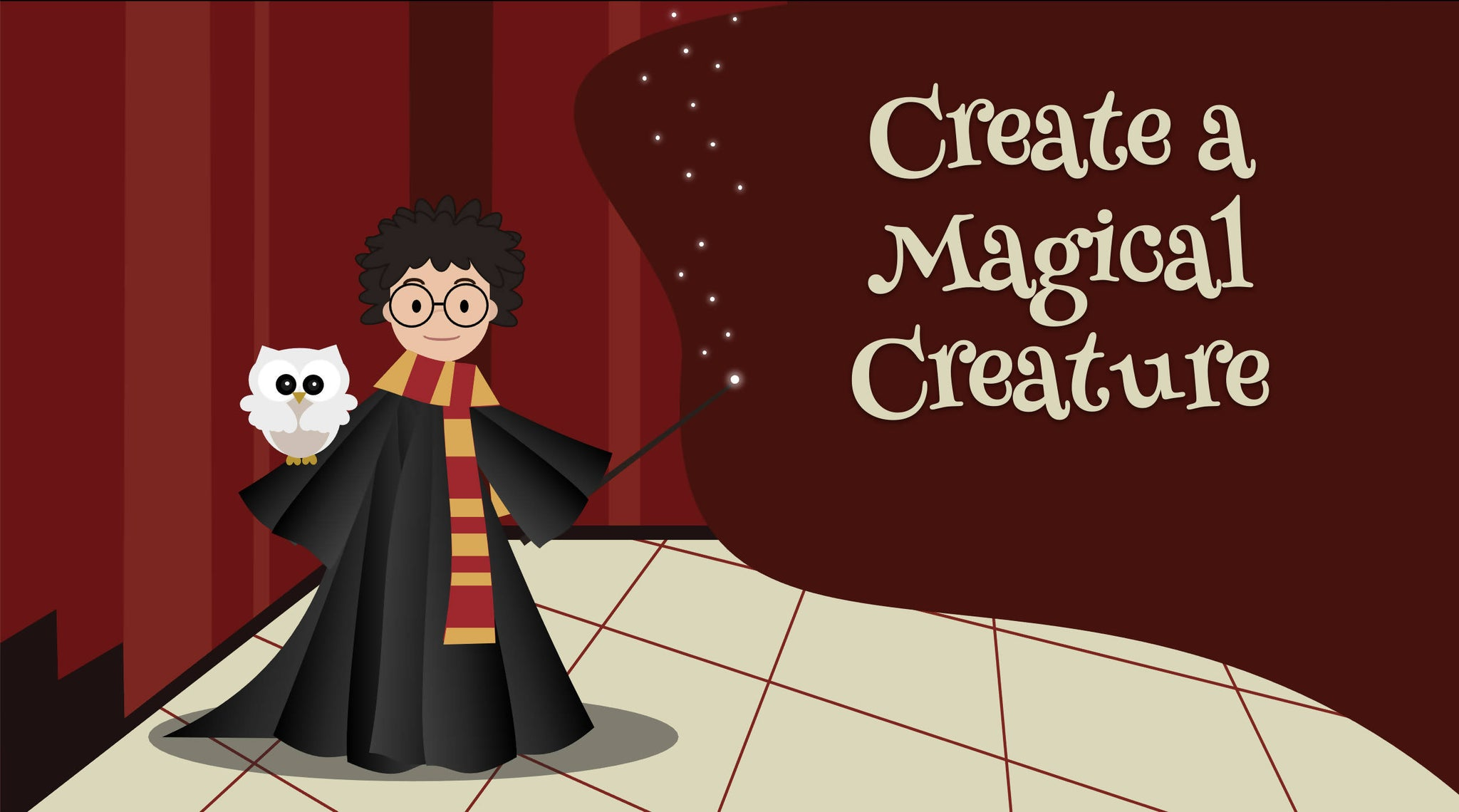 Harry Potter Creative Writing: Create a Magical Creature (7-12 years)
