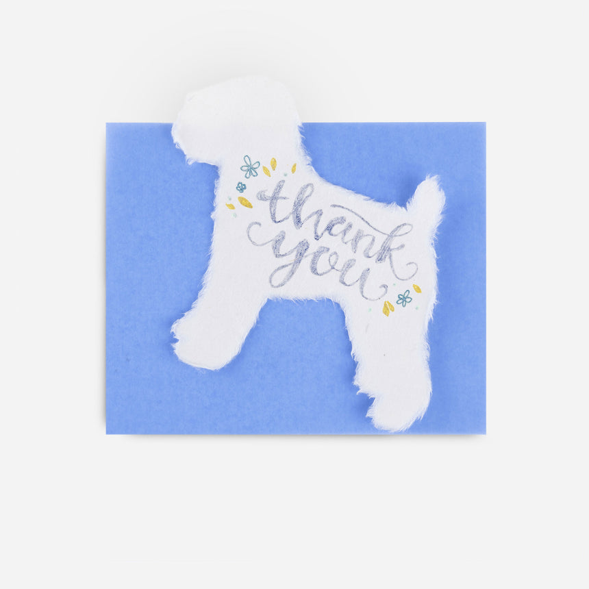 Greeting Cards Washi dog
