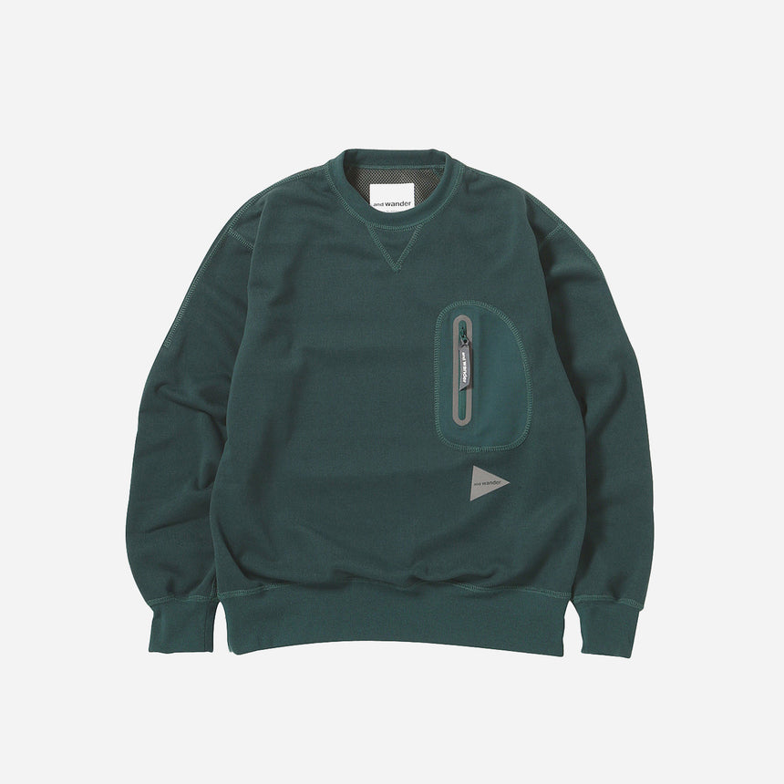 and wander Aeroknot Pile crew neck
