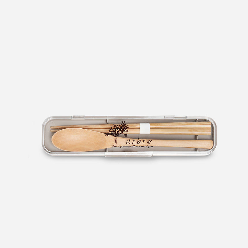 Arbre Spoon and Chopsticks set