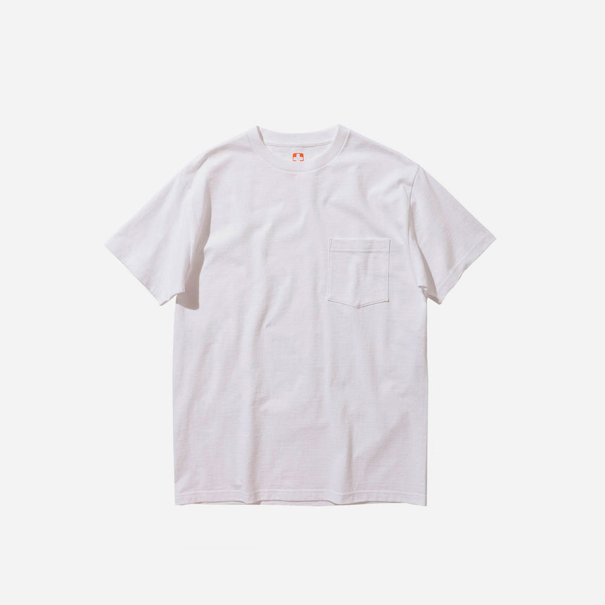 Beams Pocket t-shirt white