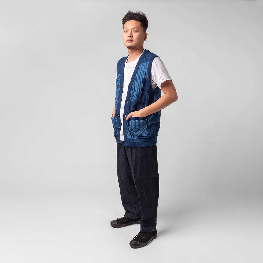 Beams plus Indigo vest