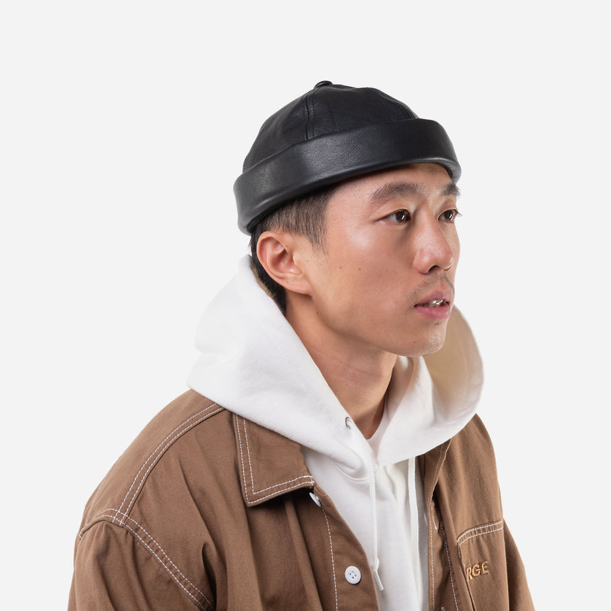 CA4LA - Soft Leather hat - TENOHA e-shop