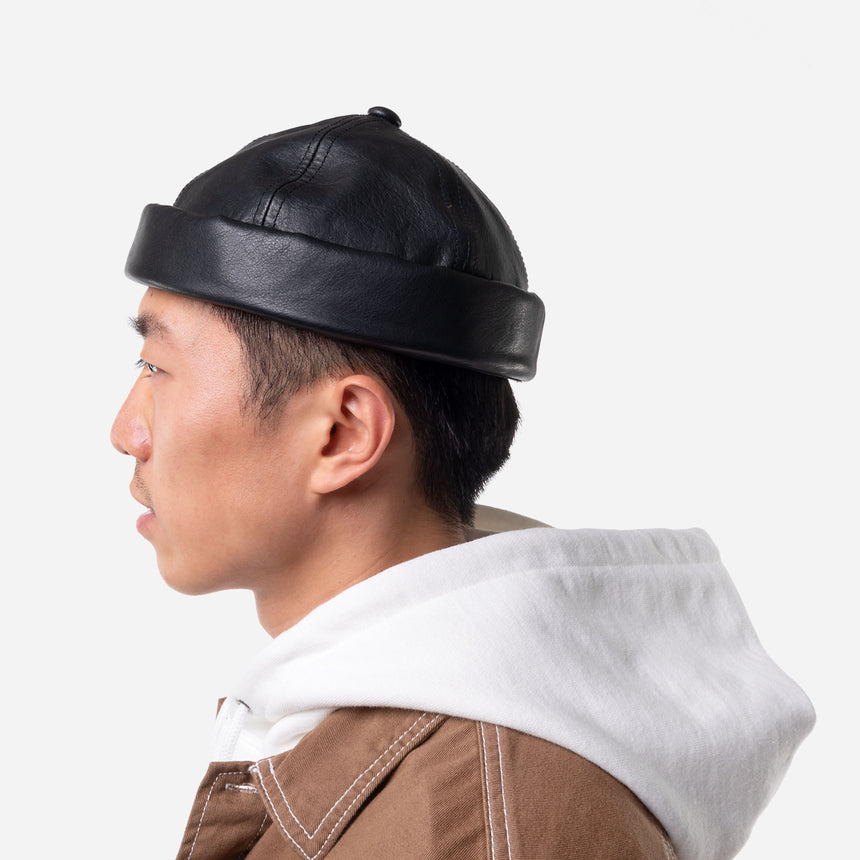 Soft Leather hat - TENOHA e-shop