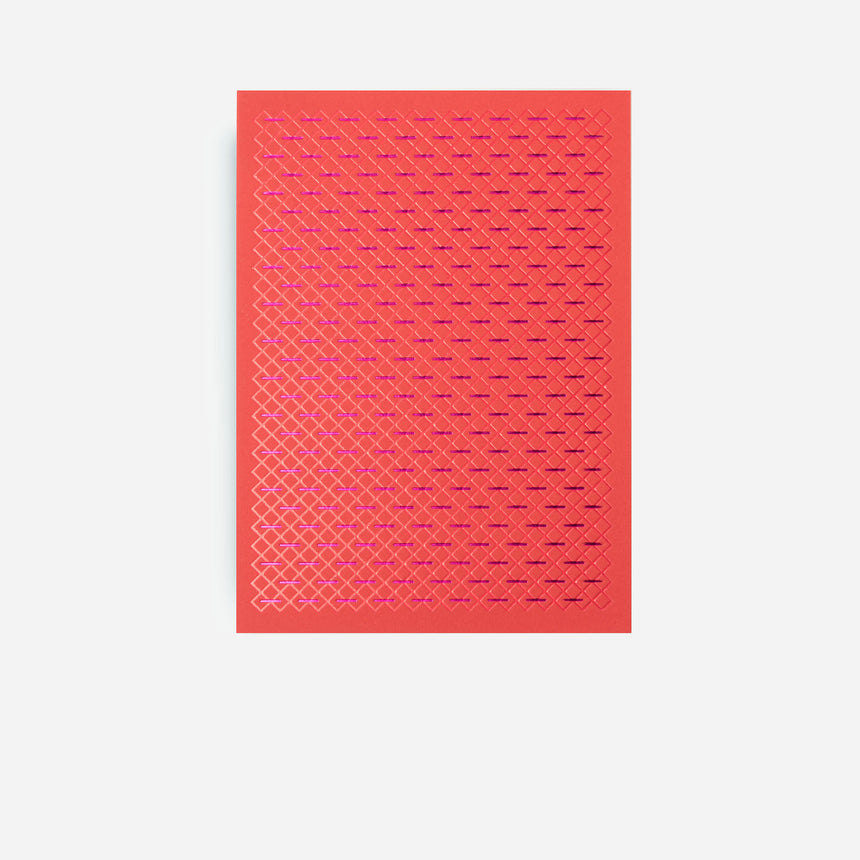 Dotsy Greeting cards Red