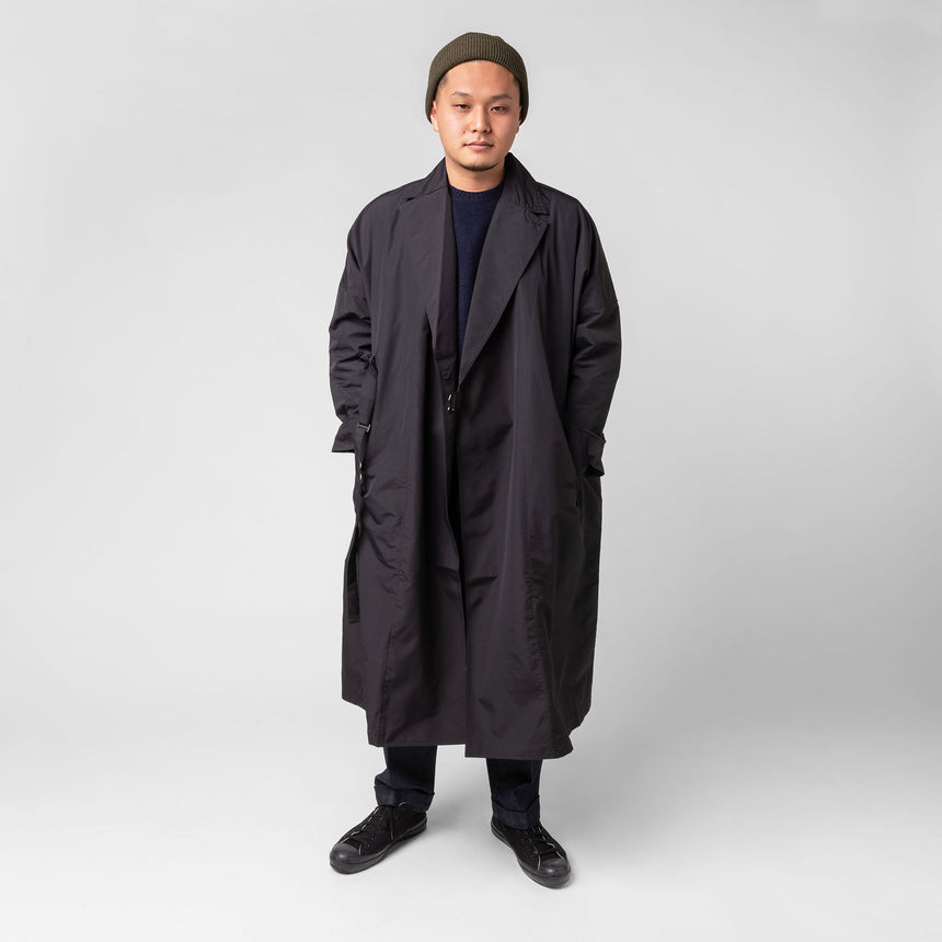 F/CE.® Recycle wrap coat black