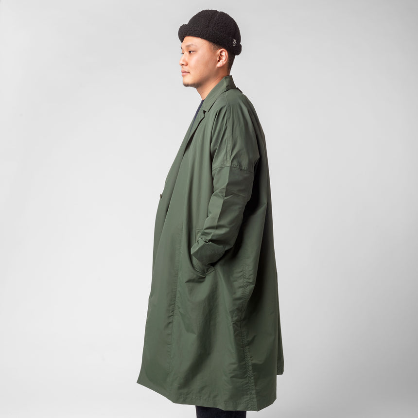 F/CE.® Recycle wrap coat olive