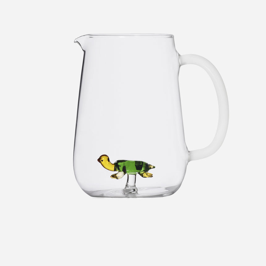 Animal farm jug Turtle Green