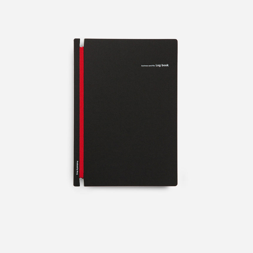 Business Card File and Log Book