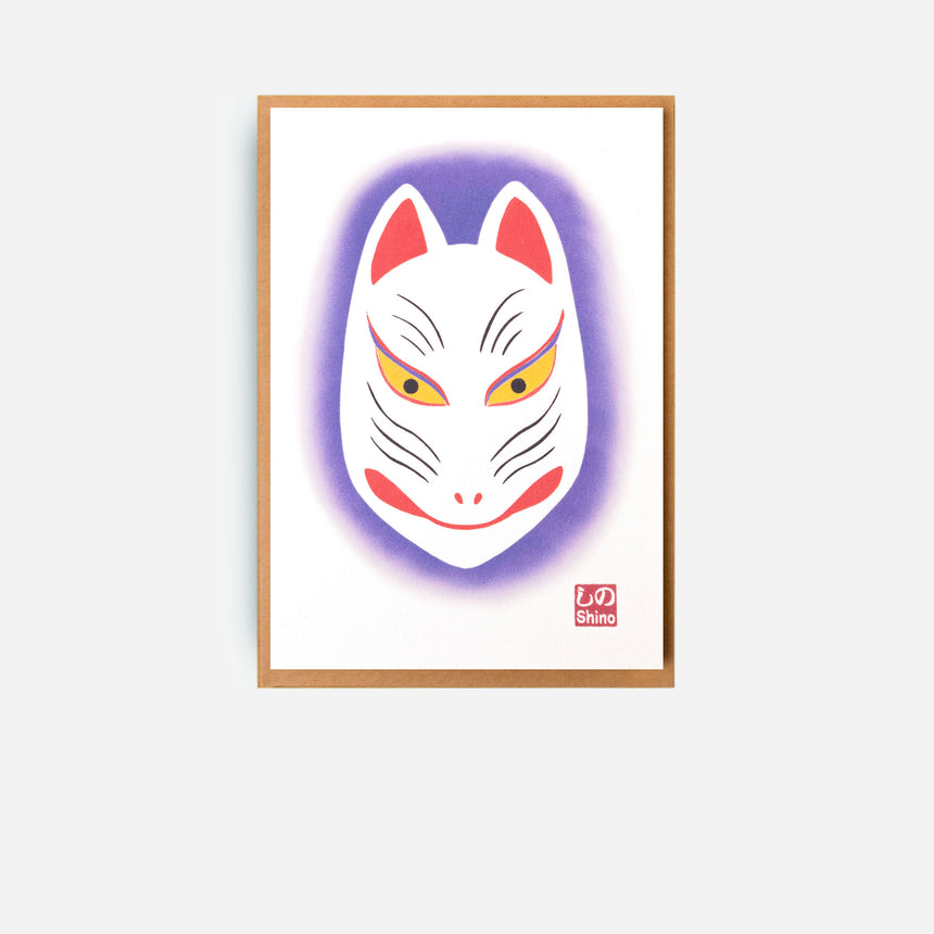Japanese Greeting cards Kitsune