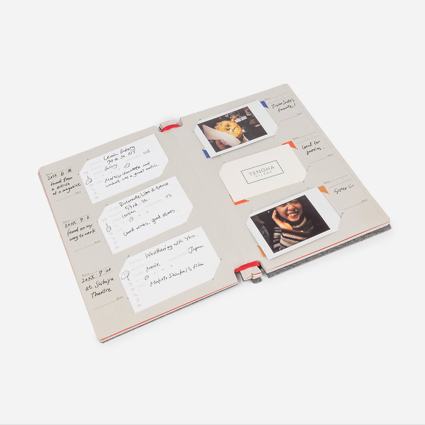 Business Card File and Log Book - TENOHA e-shop