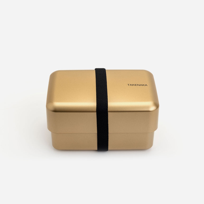 Takenaka Bento Box Nibble Gold