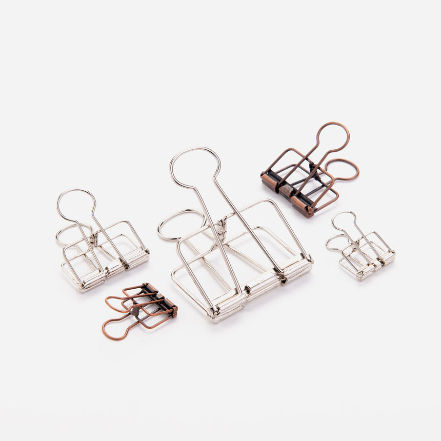 Tools to live by binder clip 19 silver