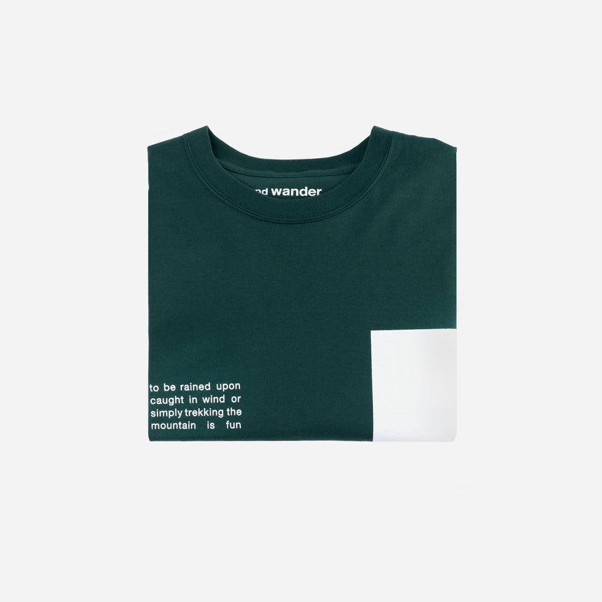and wander Composition t-shirt
